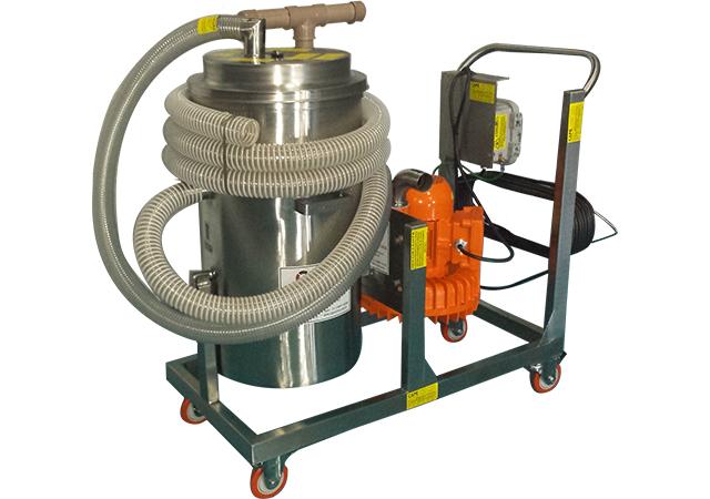 Aspirador Industrial de Pó Modelo CICLONE EH-150L GII TOTAL INOX - AISI 304