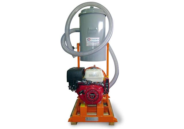 Aspirador Industrial de Pó Modelo CICLONE EH-70L GII GASOLINA