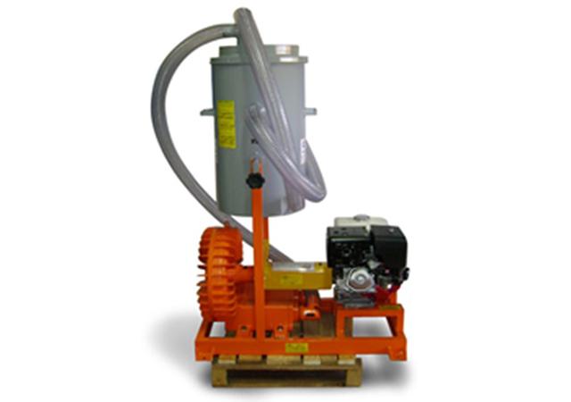 Aspirador Industrial de Pó Modelo CICLONE EH-70L GII SKID GASOLINA