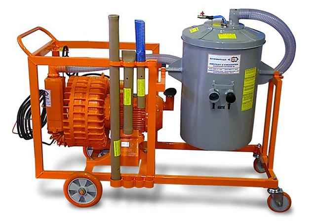 Aspirador Industrial de Pó Modelo FURACÃO EH-10-100L GII