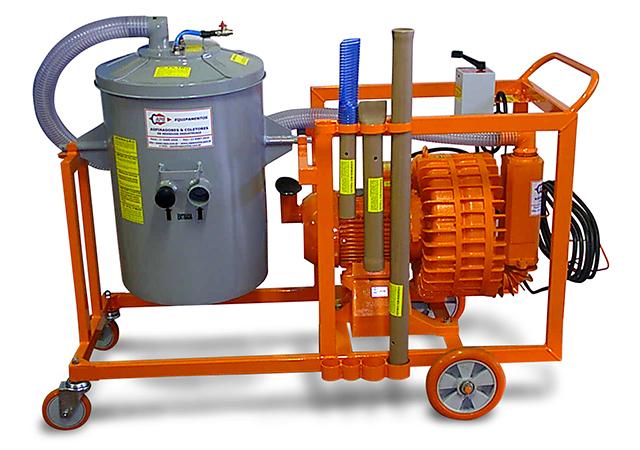 Aspirador Industrial de Pó Modelo FURACÃO EH-10-150L GII