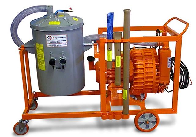 Aspirador Industrial de Pó Modelo FURACÃO EH-15-100L GII