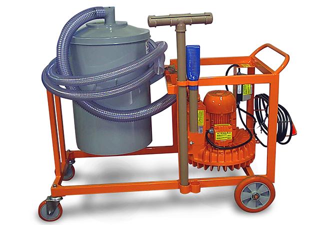 Aspirador Industrial de Pó Modelo MEGG EH-100L GII