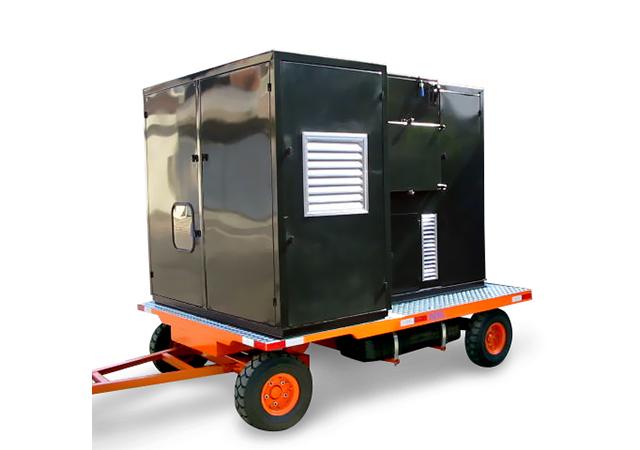 Aspirador Industrial Diesel Modelo ULTRA FURACÃO CP-D-60-9T-30–GII
